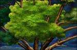 树木psd分层素材