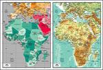 矢量非洲地图