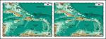 矢量安地列斯群岛地图