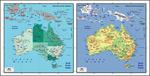 矢量澳大利亚地图