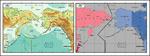 矢量白令海峡地图
