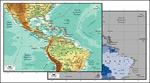 矢量中美洲地图