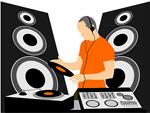 DJ与DJ音乐设备矢