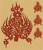 矢量传统花纹底纹