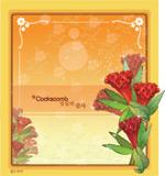 矢量鲜花背景_38