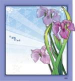 矢量鲜花背景_62