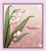 矢量鲜花背景_68