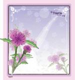 矢量鲜花背景_122
