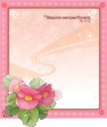 矢量鲜花背景_123