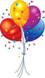矢量节日喜庆气球