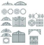 欧式门窗护栏雕花