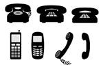 矢量电话元素