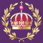 矢量金色西方皇冠