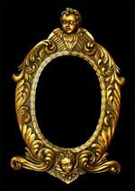 金色欧式华丽画框