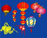 春节素材灯笼