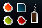 web2.0风格徽章