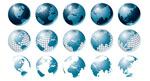 地球矢量素材系列