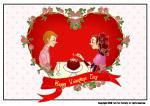 情人节-促销广告
