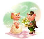 情人节-猪猪爱人