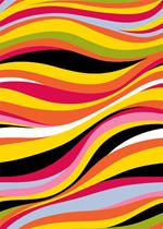 色彩线条背景