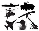 军事武器剪影