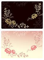 韩国花纹背景_242