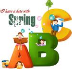 春天ABC