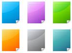 web2.0风格折角