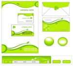 绿色企业简单VI模