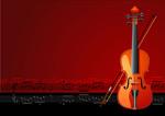 矢量小提琴