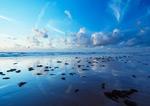 大海黄昏2