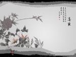 水墨丹青-春夜