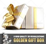 金色礼物盒