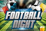 足球之夜海报