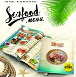 航海复古海鲜菜单
