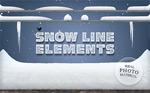 雪线元素PNG