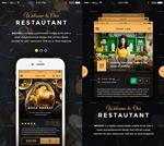 餐厅手机UI套件