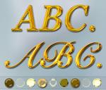 金属艺术字样式