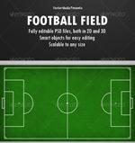 足球场模型背景