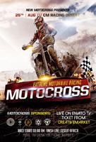 摩托车越野赛海报