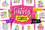 卡通图案卡片