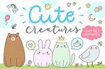 可爱风卡通动物