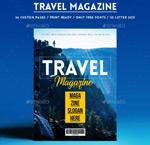 旅游类杂志ID模板