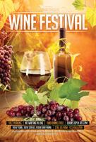 葡萄酒节海报
