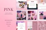 粉色社交网站广告