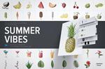 夏日清凉水果