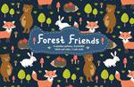 有趣的森林动物