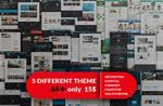 5款企业网站模板