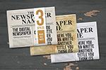报纸设计ID模板