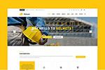 工业企业网站模板